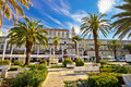 Split Riva Palm Waterfront View Stock Photo - 58707670