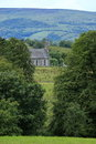 Irish Landscape With An Old Church Stock Photo - 58709620