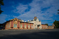 Old Railway Station Royalty Free Stock Photography - 58717347