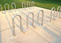 Bicycle Rack Royalty Free Stock Photography - 58728407
