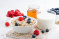 Food For A Healthy Breakfast Stock Photos - 58745323