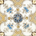Victorian Patterned Tile Royalty Free Stock Photography - 5885937