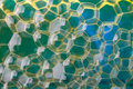 Soap Suds Extreme Closeup Creating Multi Layered Honeycomb Patte Stock Images - 58800164