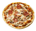 Flame Grilled Appetizing Italian Pizza Stock Image - 58812241