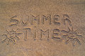 Summer Time Sign Stock Photography - 58820642