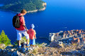 Father And Son Travel In Europe Stock Photos - 58852983