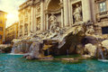 Trevi Fountain (Fontana Di Trevi) In Rome Stock Photography - 58886122