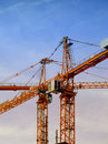 Construction Cranes 02 Royalty Free Stock Photography - 5895557