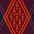 Colorful Red Yellow Blue Aztec Ornament Geometric Ethnic Illustration, Vector Royalty Free Stock Images - 58902149