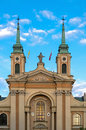 Churches Of Poland - Warsaw Stock Photo - 58930180
