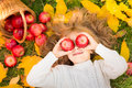 Child In Autumn Park Royalty Free Stock Photo - 58931185