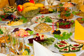 Banquet Table Stock Image - 58962041