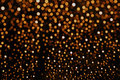 Orange Glitter Background Bokeh Light Royalty Free Stock Photo - 58962755