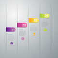 Vector Illustration Infographics Four Options Royalty Free Stock Photos - 58975578