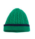 Green Knitted Winter Hat Royalty Free Stock Photography - 58989057