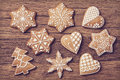 Gingerbread Christmas Cookies Royalty Free Stock Photo - 58990645