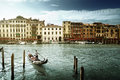 Grand Canal In Sunny Morning, Venice, Italy Stock Images - 58991694