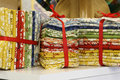 Fat Quarters Bundled For Sale Royalty Free Stock Images - 5907759
