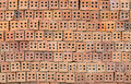 Red Stone Wall Texture Royalty Free Stock Photography - 59011187