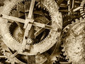 Detail Of A Rusty Ancient Church Clock Mechanism Stock Images - 59029834