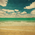 Beach Sea And Grunge Canvas Texture Vintage Stock Photography - 59031692