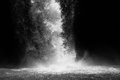 Waterfall In Black And White Royalty Free Stock Photography - 59036767