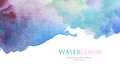 Abstract Acrylic And Watercolor Brush Strokes Painted Background Stock Photography - 59043712