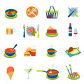 Flat Vector Food And Drink Infographic Icon: Restaurant Menu Stock Photo - 59051710