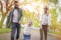 Happy Family In Park Royalty Free Stock Photography - 59074987
