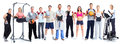 Group Of Healthy Fitness People. Stock Images - 59089064