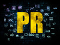 Marketing Concept: PR On Digital Background Royalty Free Stock Images - 59093399