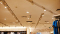 Led Ceiling Light Used In Fashion Shop Stock Photos - 59099093
