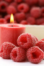 Raspberry Candle Royalty Free Stock Images - 5918029
