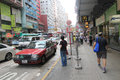 Mong Kok Street View In Hong Kong Royalty Free Stock Photography - 59105297