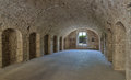 Old Military Barrack Interior . Royalty Free Stock Image - 59132316