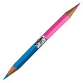 Blue And Pink Pencil Royalty Free Stock Images - 59154109