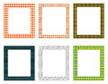 Decorative Frames Pack Royalty Free Stock Photo - 59166855