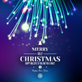 Abstract Xmas Firework At Blue Space Background Royalty Free Stock Images - 59172689