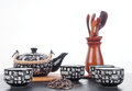 Chinese Tea Set For Tea Ceremony Stock Images - 59176054
