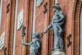 Sculptures On The Facade Of The House Of Blackheads In Riga, Lat Stock Photos - 59176653