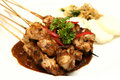 Chicken Satay Royalty Free Stock Images - 5926599