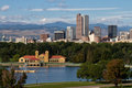 Downtown City Of Denver, Colorado Royalty Free Stock Image - 59206296