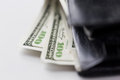 Close Up Of Dollar Money In Wallet Stock Photo - 59213720