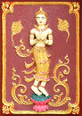 Traditional Thai Style Art Of Stucco Royalty Free Stock Images - 59246099