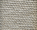 Ecru Thick Rope Wrapped Around A Pillar Stock Photography - 59246312