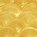 Acrylic Textured Gold Paint Abstract Stock Images - 59249214