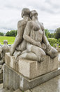 Sculpture In Vigeland Park. Oslo. Norway. Stock Photos - 59256033