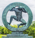 Sculpture In Vigeland Park Oslo. Norway. Royalty Free Stock Photos - 59256078