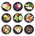 Set Of Delicious Clean Food Menu Royalty Free Stock Photos - 59290788