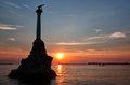 Monument To The Scuttled Warships In Sevastopol Royalty Free Stock Photography - 59292117